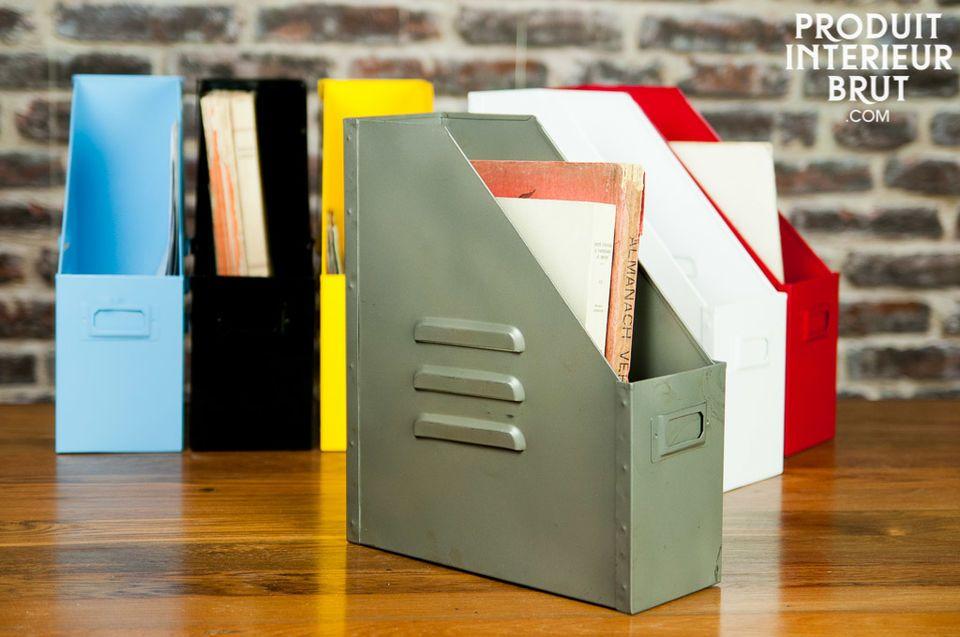 Praktischer industrieller Stil für Ihre Unterlagen