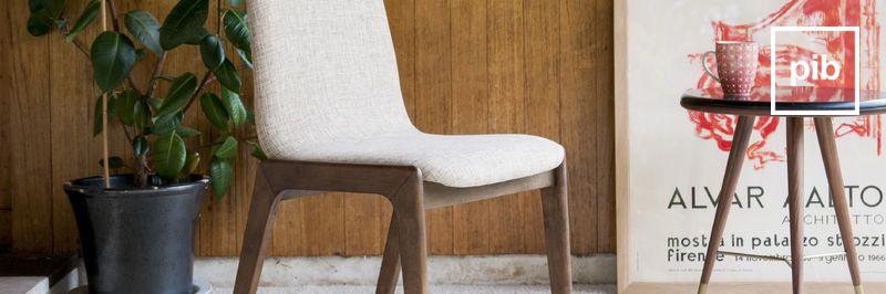 Stuhl Design Skandinavische Bald Zurück In Der Sammlung
