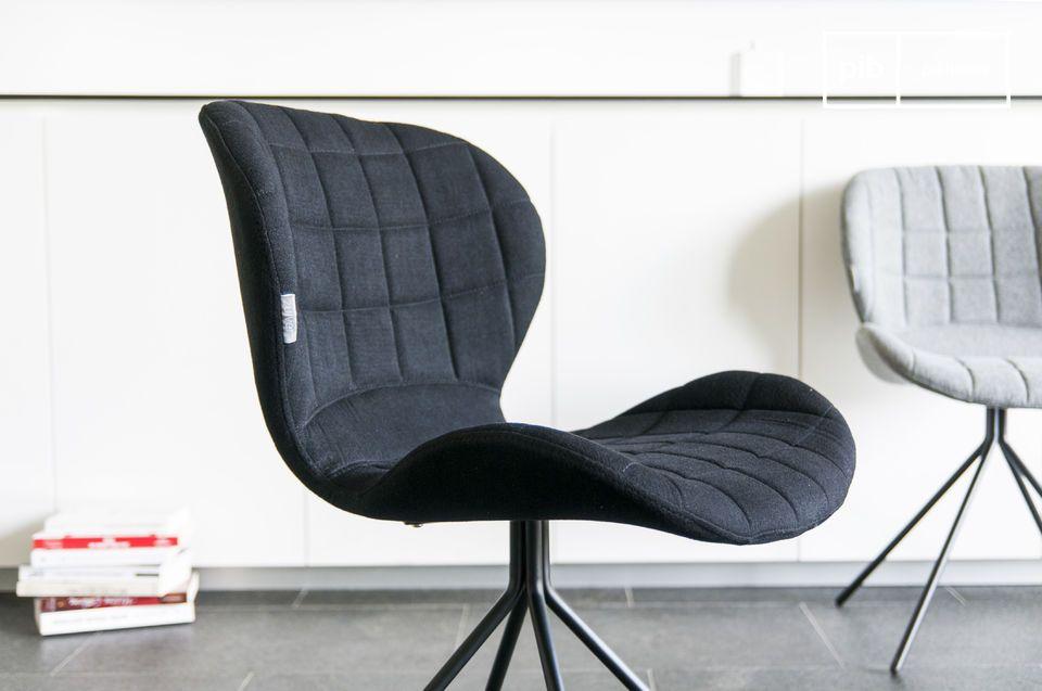 Der Stuhl Hetsik ist ein Stuhl im raffinierten skandinavischen Stil