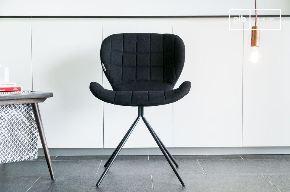 Die abgerundete Sitzfläche und Rückenlehne garantieren großen Sitzkomfort auch bei langem Sitzen