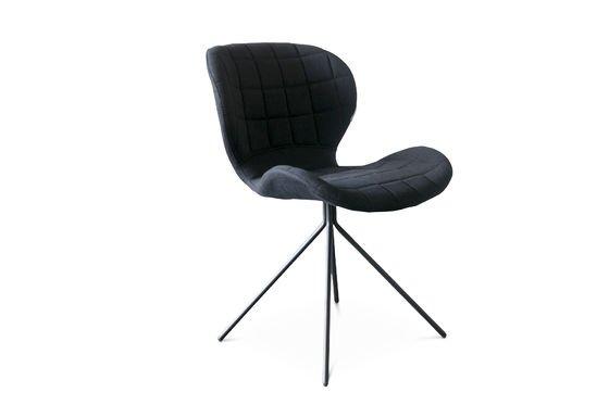 Stuhl Hetsik Black ohne jede Grenze