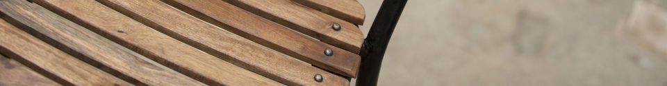 Materialbeschreibung Stuhl Mistral