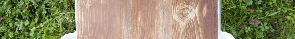 Materialbeschreibung Stuhl Multipl's Weiß - Holz