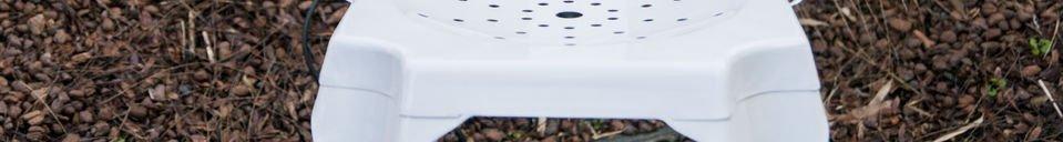 Materialbeschreibung Stuhl Multipl's Weiß