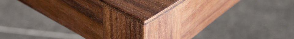 Materialbeschreibung Stuhl Nöten aus Nussholz