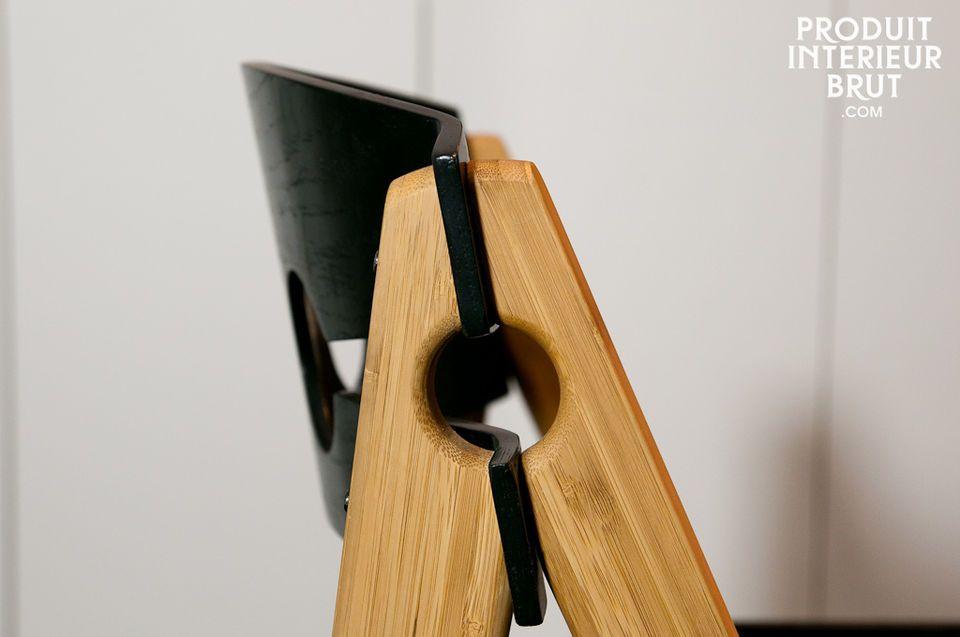 Robuster und leichter Stuhl im Retro-Look