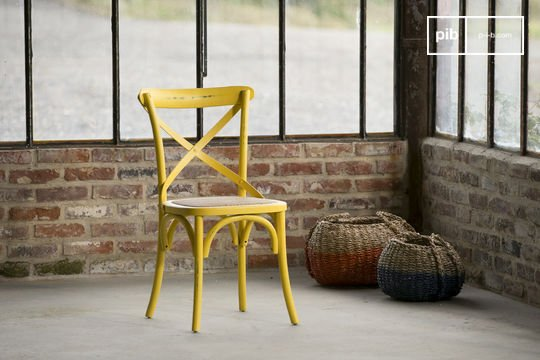 Stuhl Pampelune Gelb