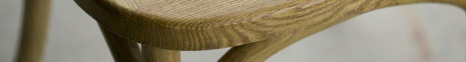 Materialbeschreibung Stuhl Pampelune naturbelassene Verarbeitung