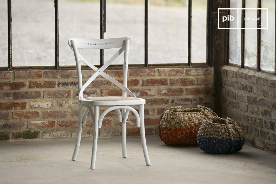 Stuhl Pampelune Weiß