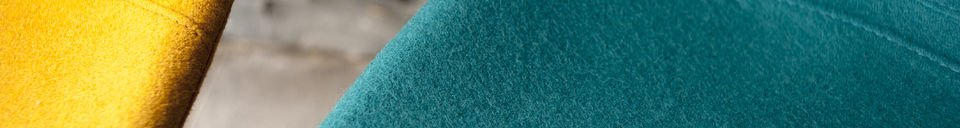 Materialbeschreibung Stuhl Piramis Blau