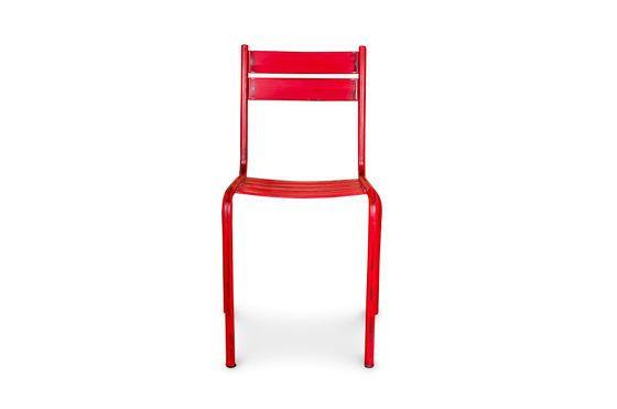 Stuhl Pretty mit roter Patina ohne jede Grenze