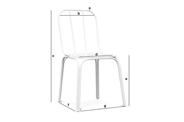 Produktdimensionen Stuhl Sollävik