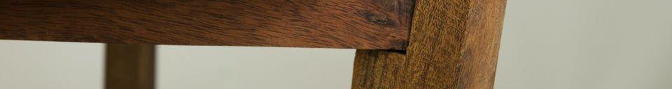 Materialbeschreibung Tablett-Tisch Stockholm
