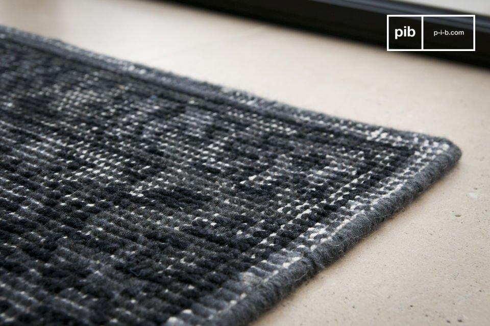 Verwaschener Look: 100% Wolle