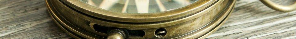 Materialbeschreibung Timonier-Kompass
