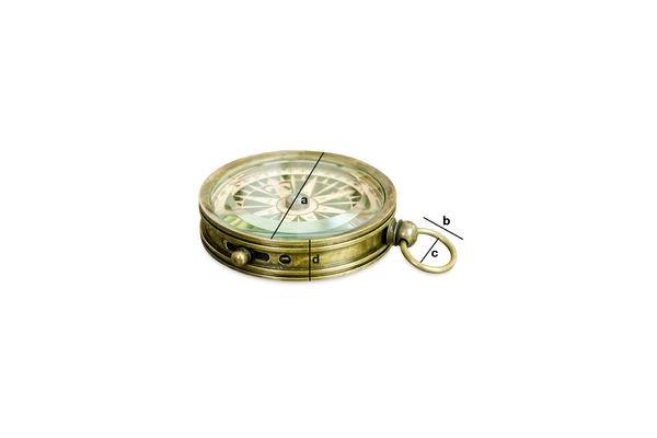 Produktdimensionen Timonier-Kompass