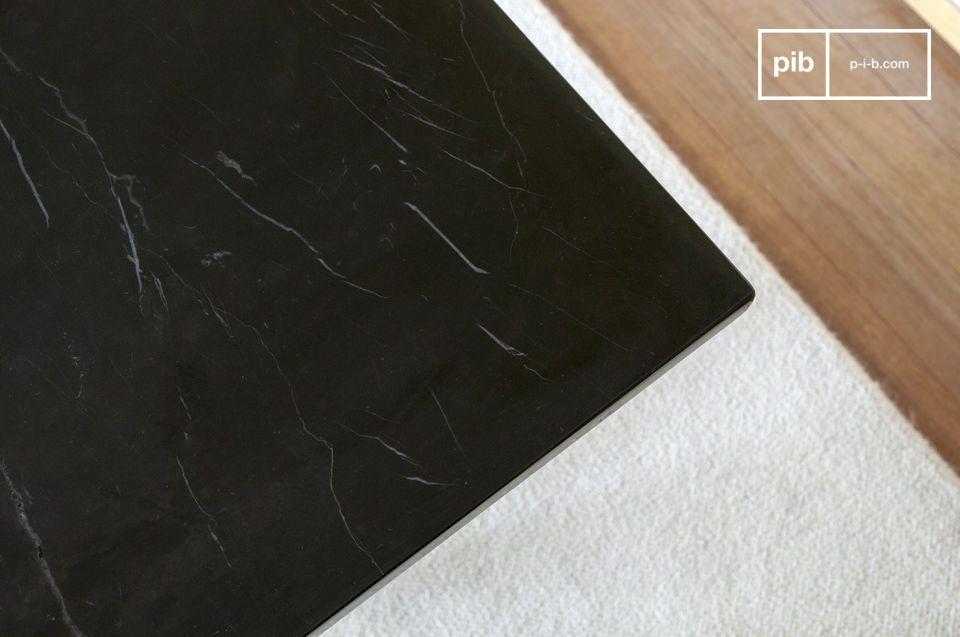 Tisch aus schwarzem Marmor Thorning - 2