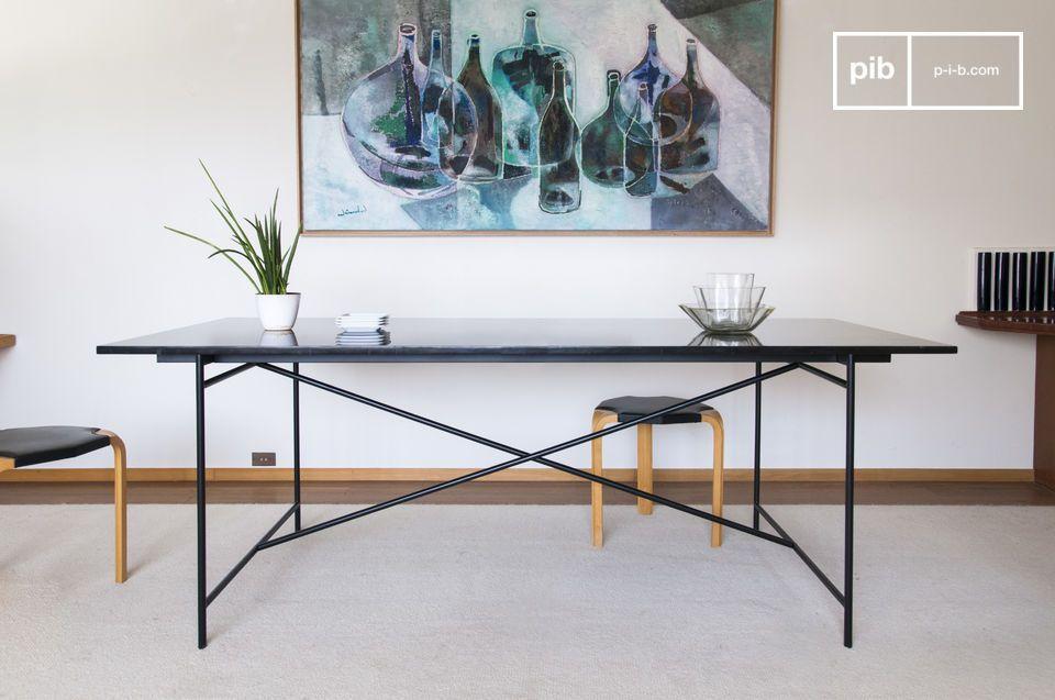 Tisch aus schwarzem Marmor Thorning - 4