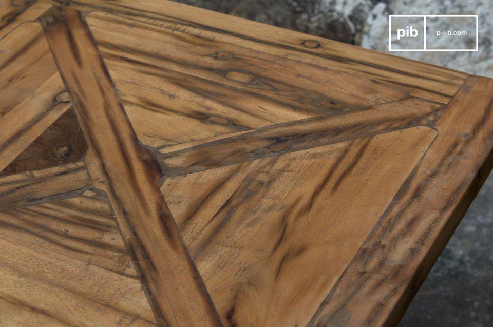 Recycletes Massivholz, in zwei Längen erhältlich