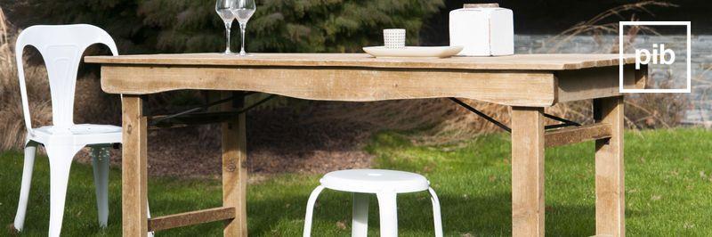 Tisch landhausstil shabby chic bald zurück in der Sammlung
