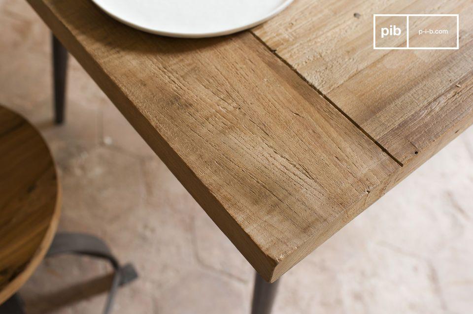 Ein Tisch im überwältigenden Industrial Style