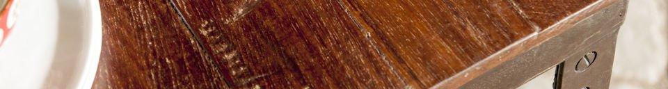 Materialbeschreibung Tisch Masaï