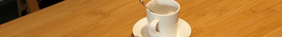 Materialbeschreibung Tisch Numéro 1