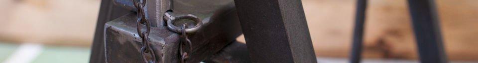 Materialbeschreibung Tischbockpaar Ambolt