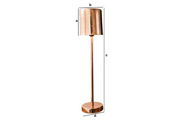 Produktdimensionen Tischlampe Gryde