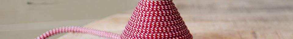 Materialbeschreibung Tischlampe NUD