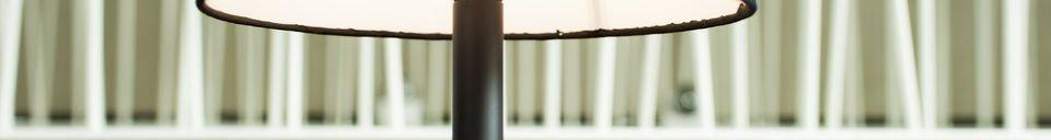 Materialbeschreibung Tischlampe Palitö