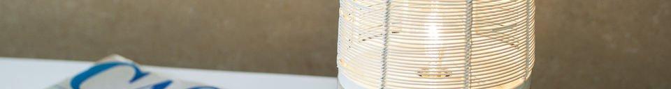 Materialbeschreibung Tischleuchte Cistella