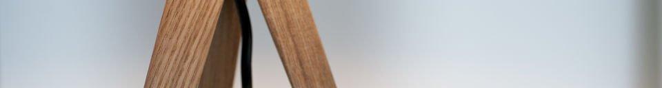 Materialbeschreibung Tischleuchte Kavinskï