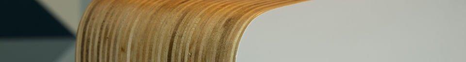 Materialbeschreibung Tischleuchte Woodwite