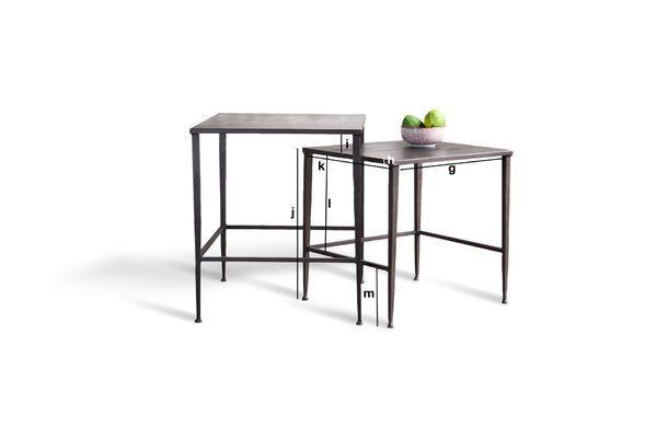 Produktdimensionen Tischset Philadelphia