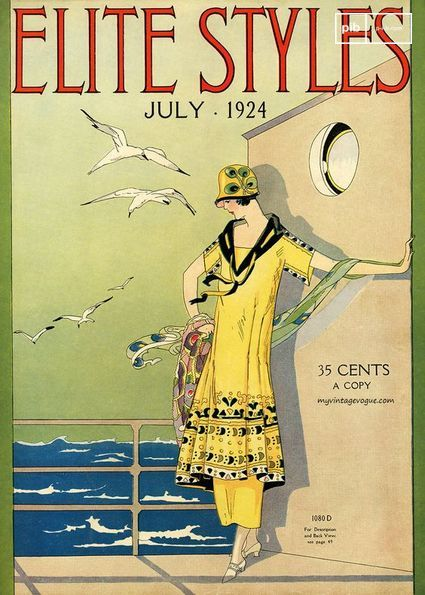 Titelseite einer Zeitschrift in den 20er Jahren