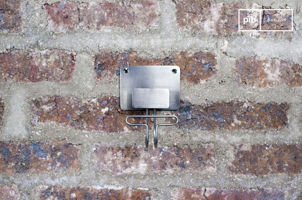 Metallhaken mit klaren Linien für einen  Industrial Style  Touch  auf Ihren Wänden