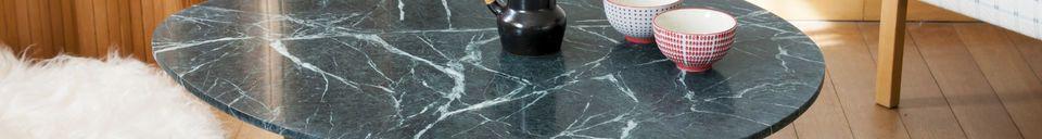 Materialbeschreibung Trivisan Marmor Couchtisch