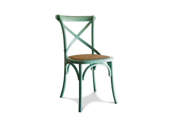 Türkisfarbener Stuhl Pampelune ohne jede Grenze