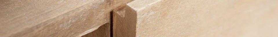 Materialbeschreibung TV-Möbel aus Holz Zürich