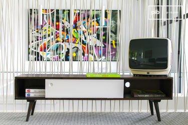 TV-Möbel Brown'n White