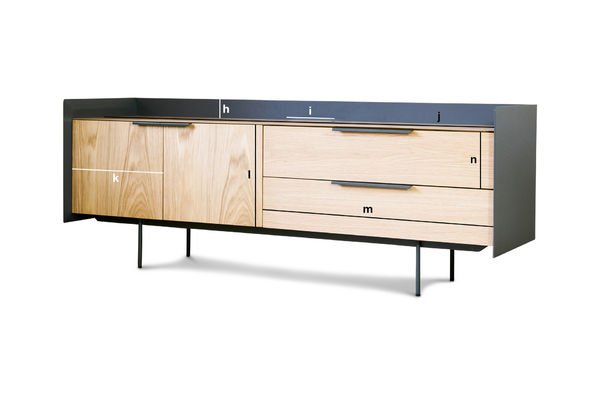 Produktdimensionen TV-Möbel Jackson