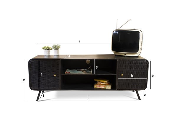 Produktdimensionen TV-Möbel Minoterie
