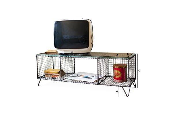 Produktdimensionen TV-Möbel Ontario