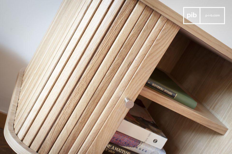 Das aus 100% Eichenholz gefertigte Ritz TV-Möbel ist in der Lage