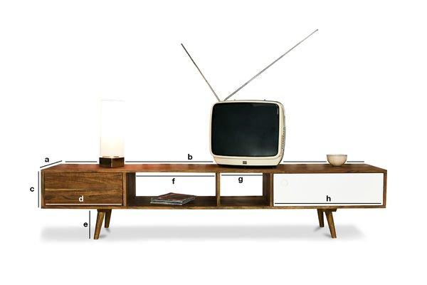 Produktdimensionen TV-Möbel Stockholm