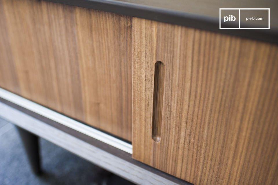 TV Möbel aus Holz im Stil der 60er
