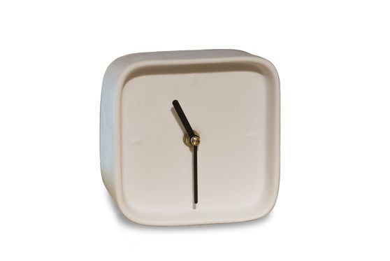 Uhr aus Porzellan Fjorden ohne jede Grenze