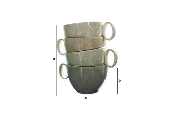 Produktdimensionen Vase Amalia