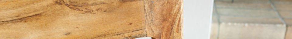 Materialbeschreibung Viereckiger Beistelltisch Marmori